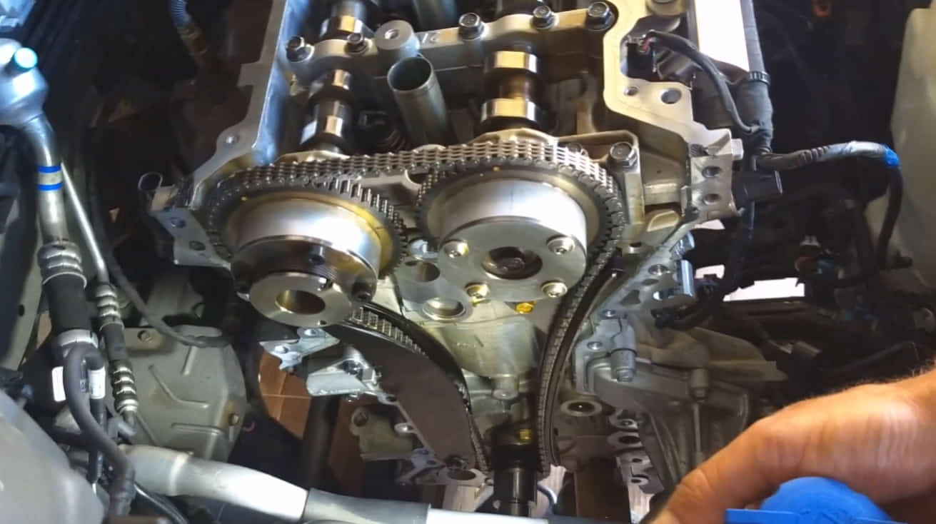 how to fix hyundai timing chain tensioner problem