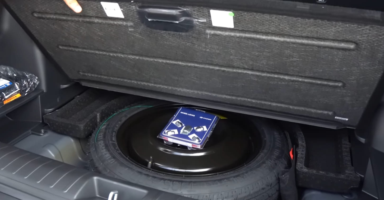 hyundai donut spare tire