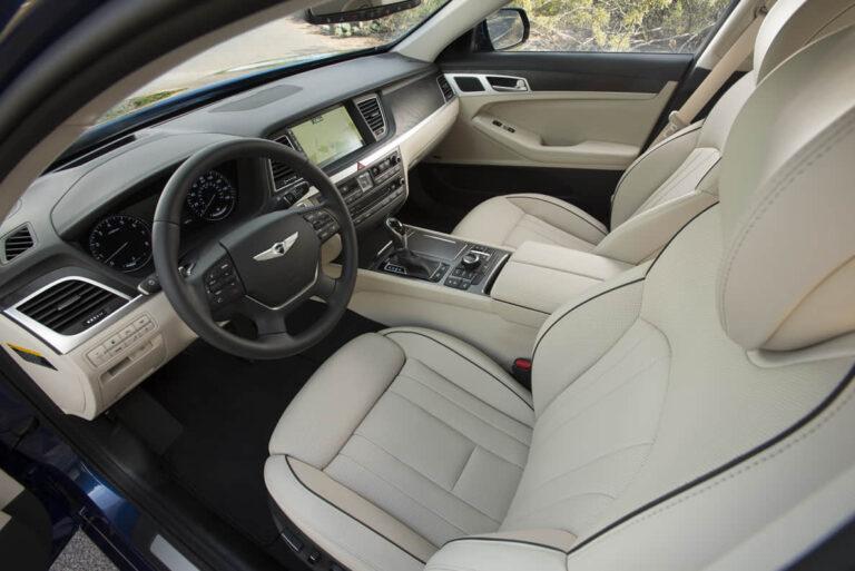 hyundai genesis driver seat problems
